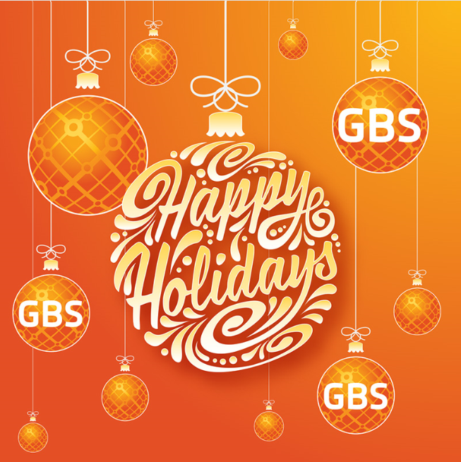 Happy Holidays from GBS