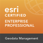 Enterprise Geodata Management Professional 10.3 Badge